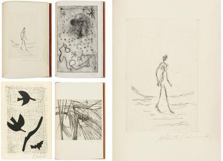 Livre Illustré Giacometti - Bibliographie des œuvres de René Char (PAB 1964) Gravures signées de Giacometti, Miro, Braque, Da Silva.
