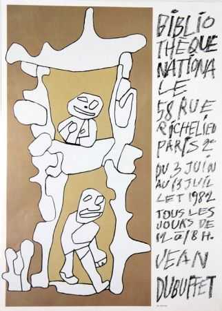 Offset Dubuffet - Bibliotheque Nationale