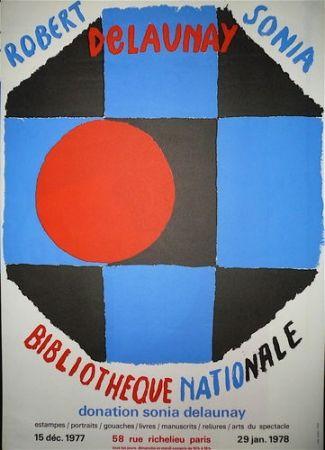 Affiche Delaunay - Biblitothèque nationale