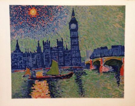Lithographie Derain - Big Ben