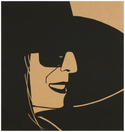Sérigraphie Katz - Big Black Hat Ada (brown)