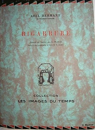 Livre Illustré Icart - Bigarrure
