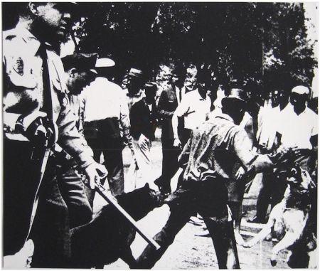 Sérigraphie Warhol - Birmingham Race Riot (FS II.3)