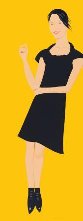 Sérigraphie Katz - Black Dress - Carmen