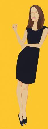 Sérigraphie Katz - Black Dress - Christy