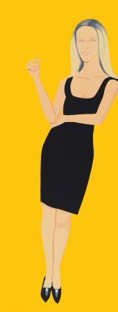 Eau-Forte Et Aquatinte Katz - Black Dress - Yvonne
