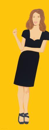 Sérigraphie Katz - Black Dress -Cecily