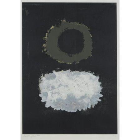 Sérigraphie Gottlieb - Black Field