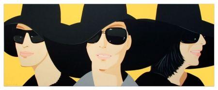 Sérigraphie Katz - Black Hat IV