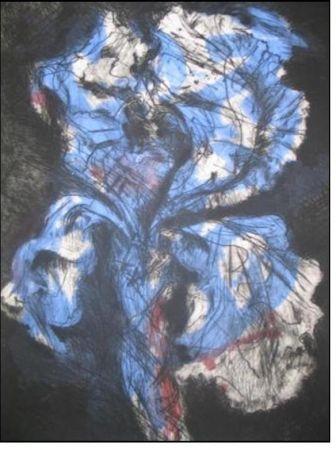 Gravure Kentridge - Black Iris