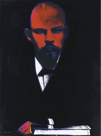 Sérigraphie Warhol - Black Lenin (FS II.402)
