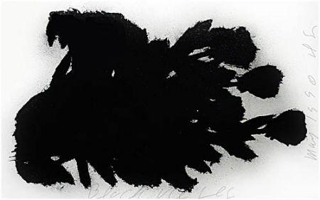 Sérigraphie Sultan - Black Roses