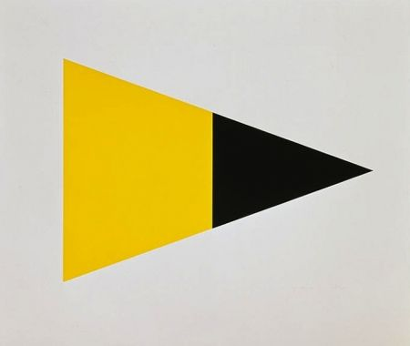 Lithographie Kelly - Black Yellow