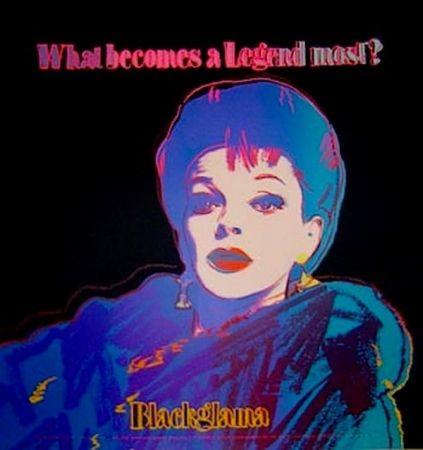 Sérigraphie Warhol - Blackglama (From ADS Portfolio)