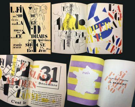 Livre Illustré Leger - Blaise Cendrars : La Fin Du Monde Filmée Par L'Ange N.-D. Roman. Pochoirs par Fernand Léger (1919)..