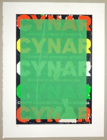 Sérigraphie Rotella - Blank Cynar (verde)