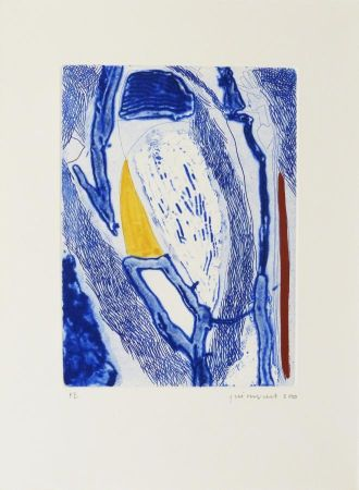 Eau-Forte Guinovart - Blau 21