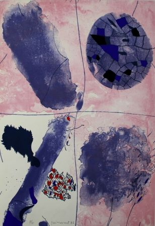 Lithographie Guinovart - Blaus