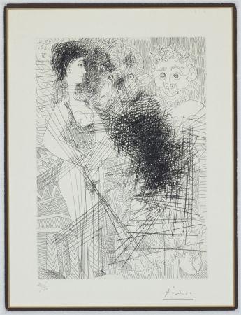 Gravure Picasso - Bloch 1662 (347 Series)