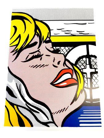 Lithographie Lichtenstein - Blonde