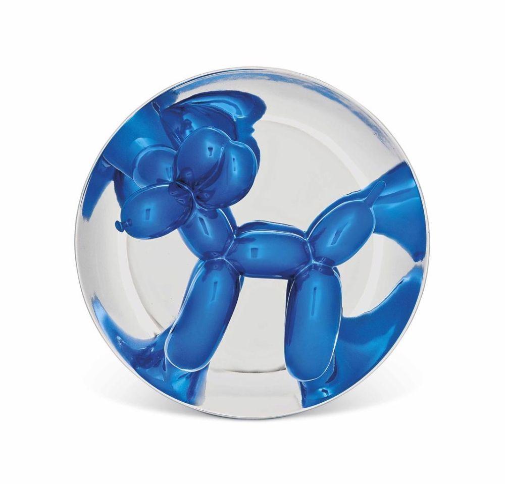 Aucune Technique Koons - Blue Balloon Dog