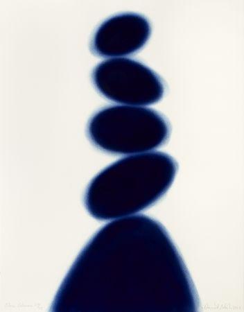 Pochoir Nash - Blue Column