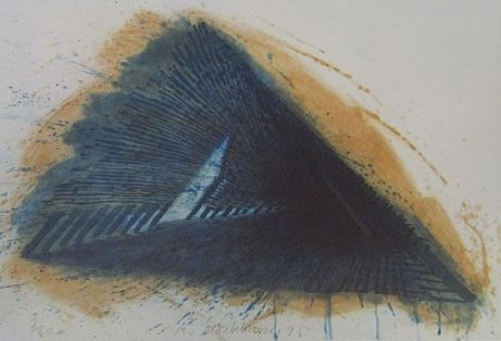 Lithographie Stackhouse - Blue Encounterings