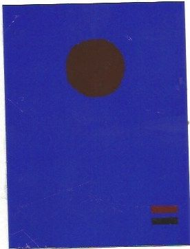 Sérigraphie Gottlieb - Blue night