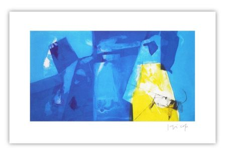 Gravure Capa - Blue space with yellow