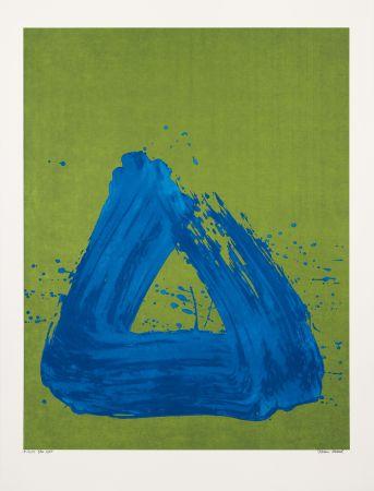 Sérigraphie Verdier - Blue Spirit