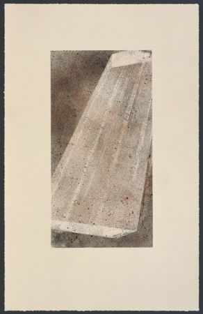 Lithographie Ruscha - Bolt 2