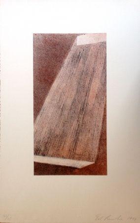 Lithographie Ruscha - Bolt 3