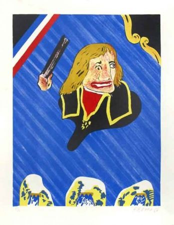 Lithographie Arroyo - Bonaparte