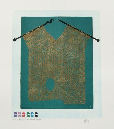Eau-Forte Et Aquatinte Kern - Bonjour Max Ernst