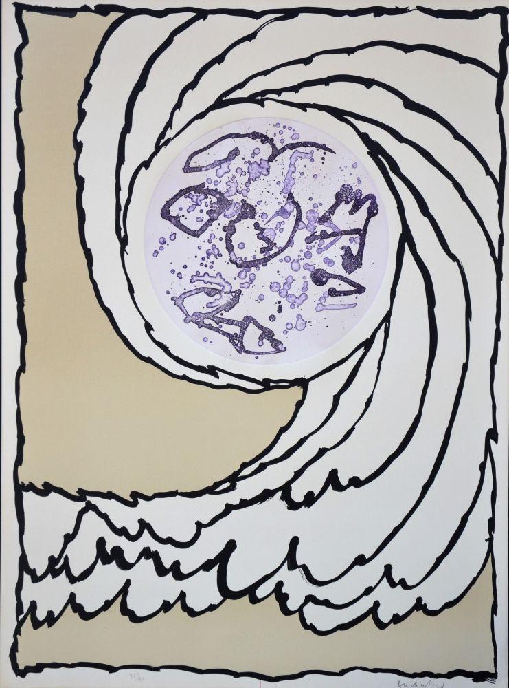 Lithographie Alechinsky - Boréalité IV