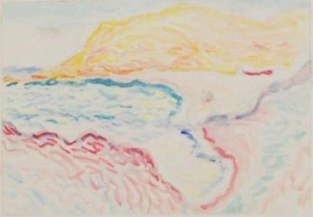 Collographie Matisse - Bord de la mer, Collioure
