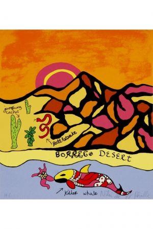 Lithographie De Saint Phalle - Borrego desert