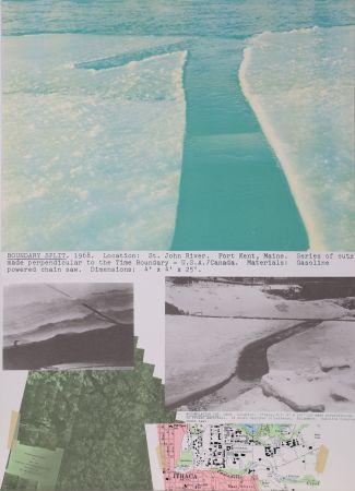 Lithographie Oppenheim - Boundary Split
