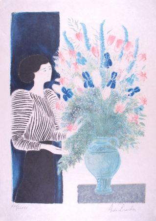 Lithographie Brasilier - Bouquet Royal