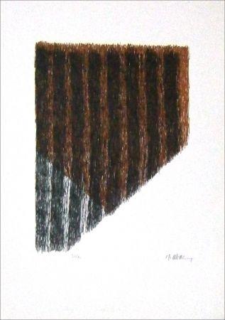 Lithographie Ubac - Bout du champ