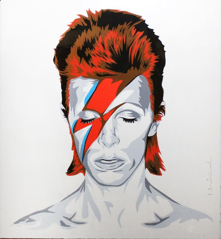Sérigraphie Mr. Brainwash - Bowie