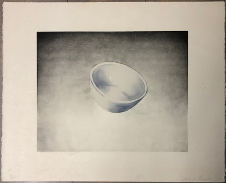 Lithographie Ruscha - Bowl, from domestic tranquility series