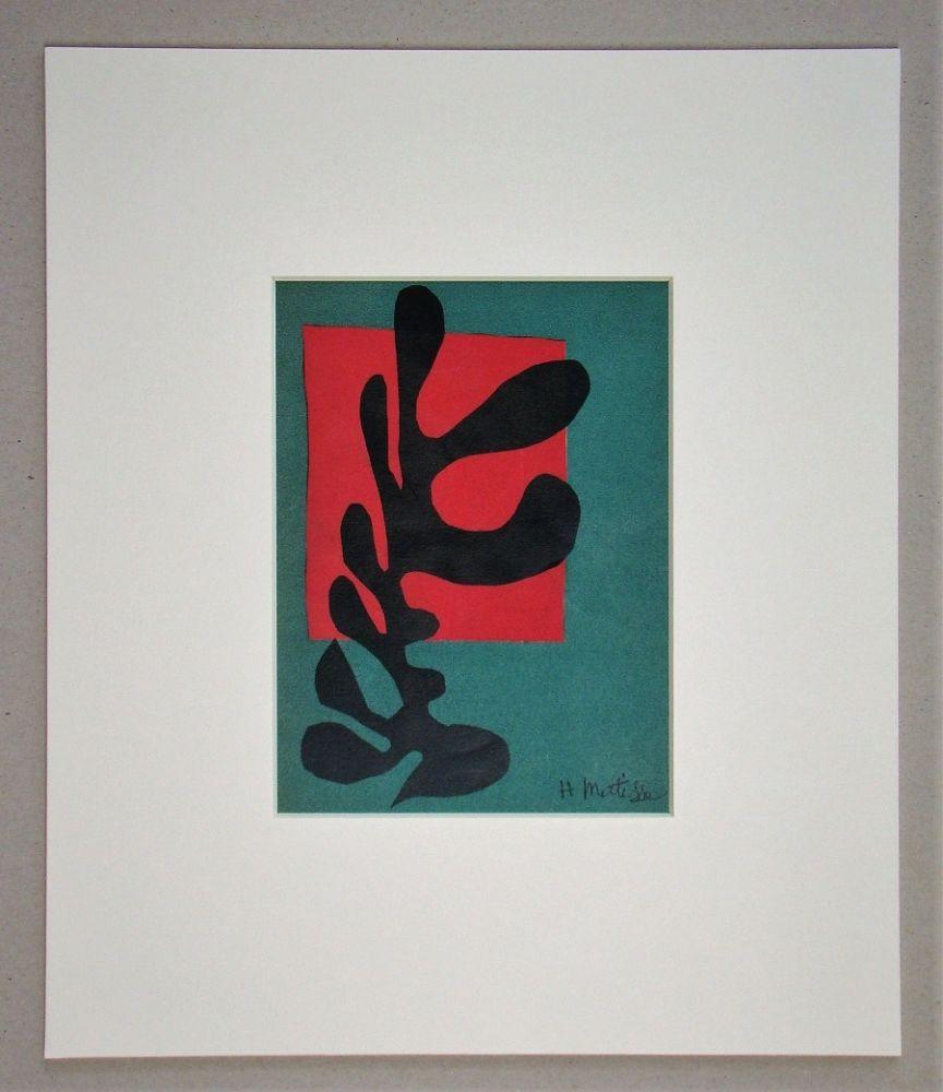 Lithographie Matisse (After) - Boxeur nègre, 1947