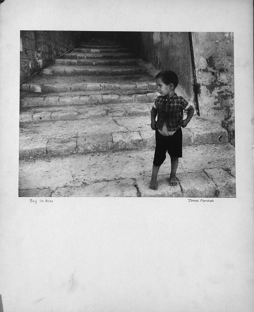 Photographie Marshall - Boy in Acre