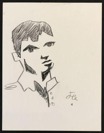 Aucune Technique Cocteau - Boy in Collared Shirt