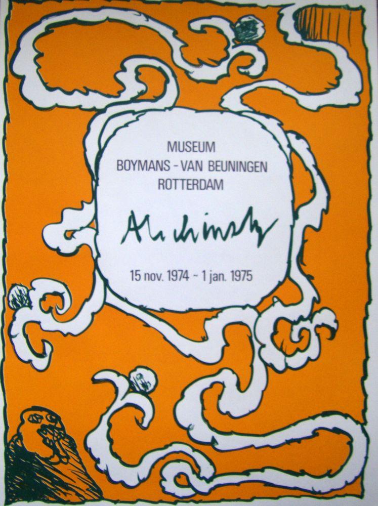 Affiche Alechinsky - Boymans