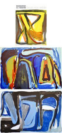 Livre Illustré Van Velde - BRAM VAN VELDE. Derrière le Miroir n° 216. Nov. 1975.
