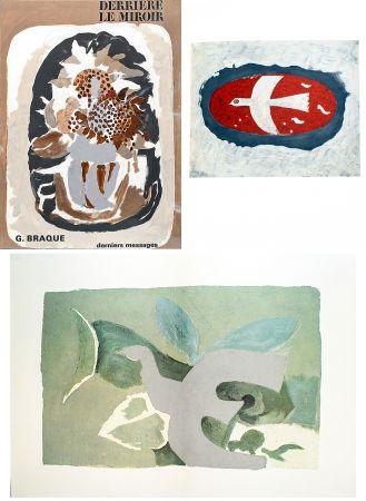 Livre Illustré Braque - BRAQUE, derniers messages. Derrière le Miroir n° 166 . Juin 1967.