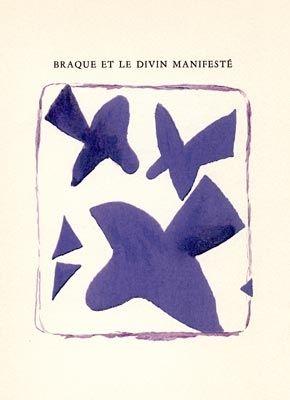 Livre Illustré Braque - Braque et le divin manifesté