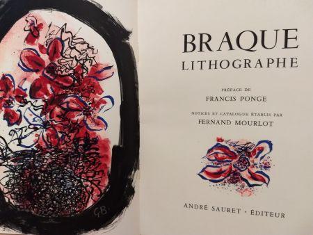 Livre Illustré Braque - Braque Lithographie